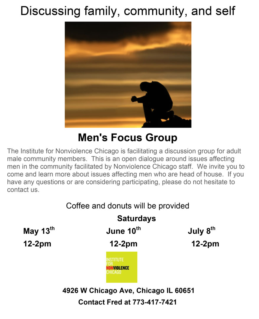 Men's Focus Group