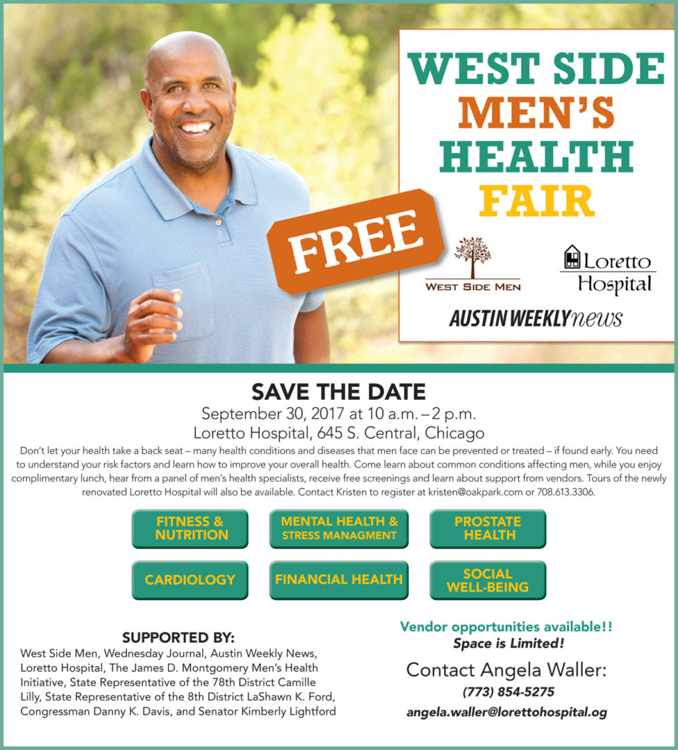 West Side Men's Health Fair 2017