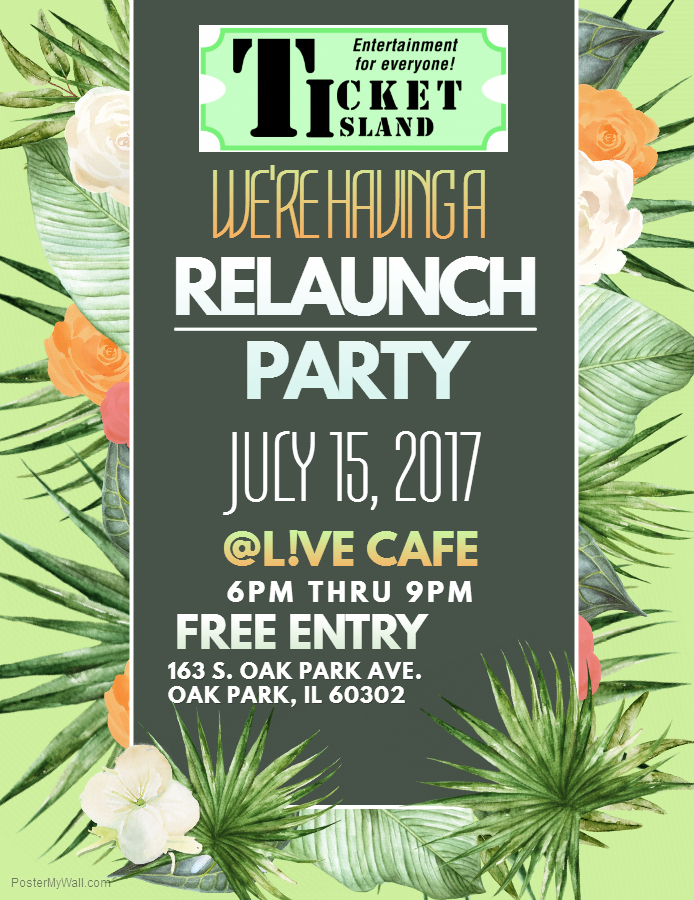 Ticket Island's Relaunch Party