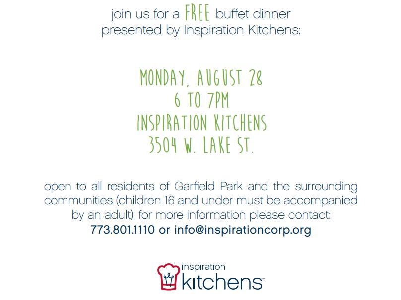 Inspiration Kitchens Community Dinner
