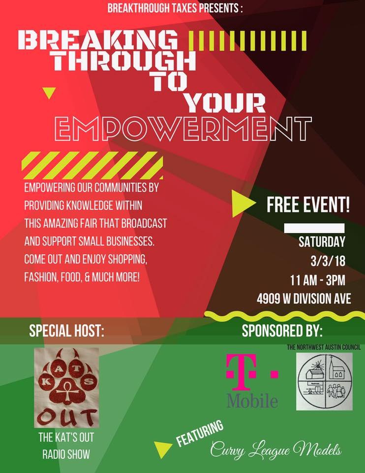 Breakthrough to your Empowerment Fair