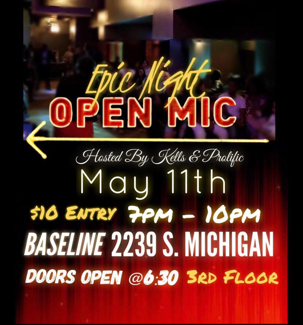 Epic Night Open Mic