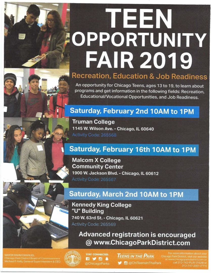 Teen Opportunity Fair 2019