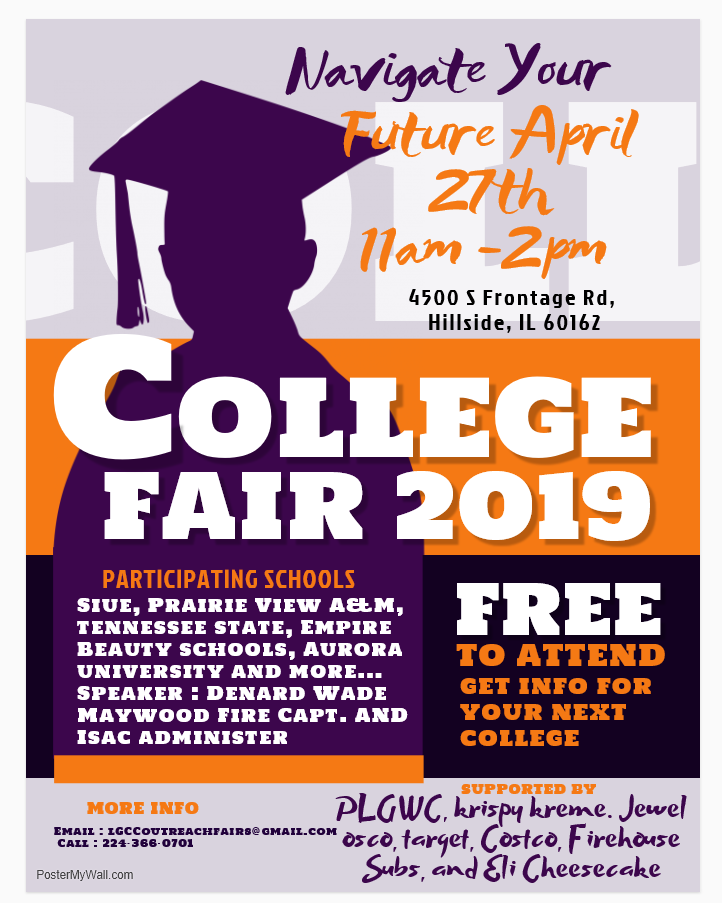 LGCC Navigate Your Future College Fair