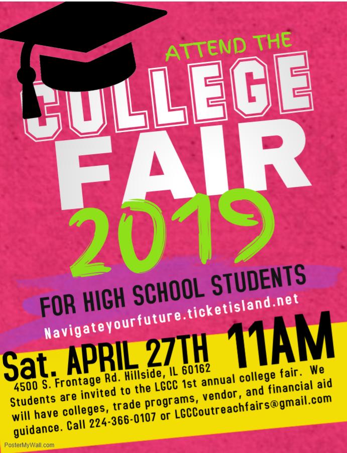 LGCC College Fair School Participants Needed
