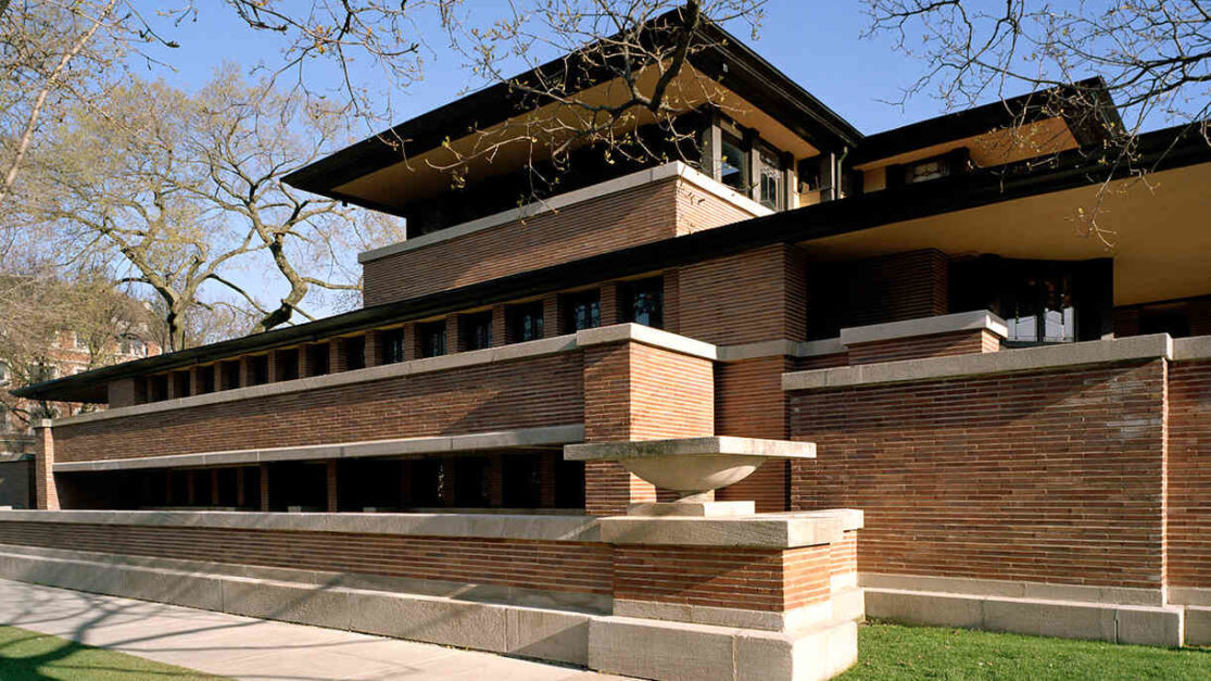 Frank Lloyd Wright Robie House Tour