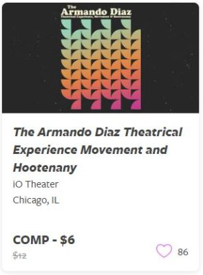 The Armando Diaz Theatrical Experience Movement Comp Train