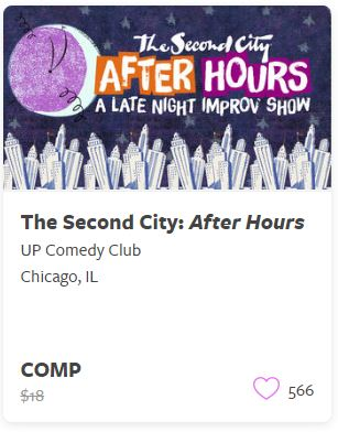 The Second City After Hours Comp Train