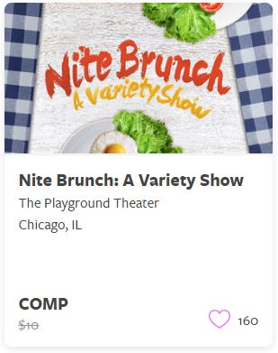 Nite Brunch a Variety Show Comp Train