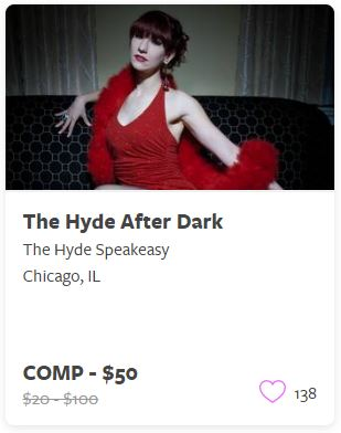 The Hyde After Dark Comp Tickets