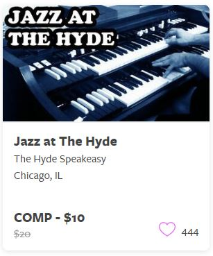 Jazz at the Hyde Comp Tickets