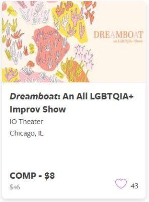 Dreamboat an All LGBTQIA Improv Show Comp Train