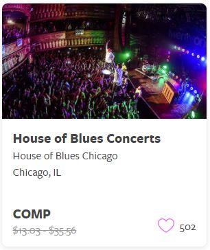 House of Blues Comp Train