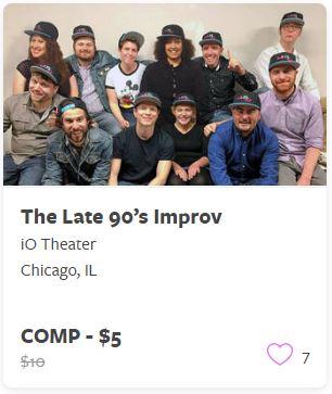 The Late 90s Improv Comp Train