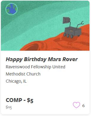 Happy Birthday Mars Rover Comp Train