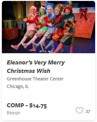 Eleanor's Very Merry Christmas Wish Comp Tickets