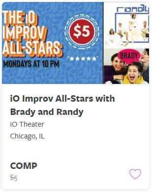 iO Improv All Star with Brady and Randy Comp Train