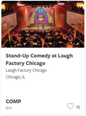 Stand Up Comedy at Laugh Factory Chicago Comp Train