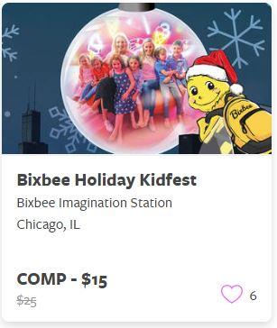 Bixbee Holiday Kidsfest Comp Train