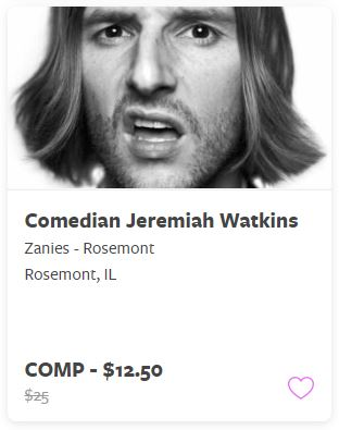 Comedian Jeremiah Watkins