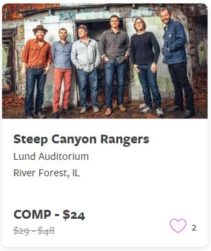 Steep Canyon Rangers Comp Train