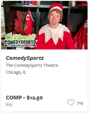 ComedySportz Comp Train