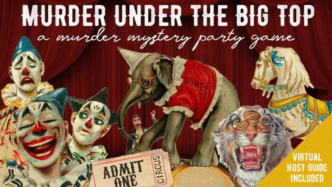 Murder Mystery Under The Big Top