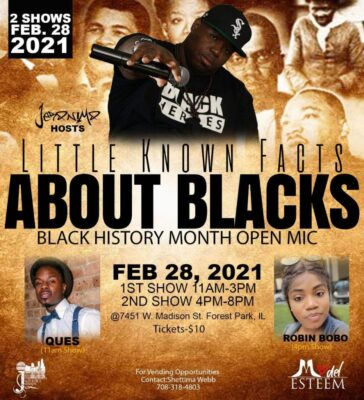 Little Know Facts About Blacks