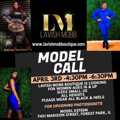 Lavish Mobb Boutique Model Call